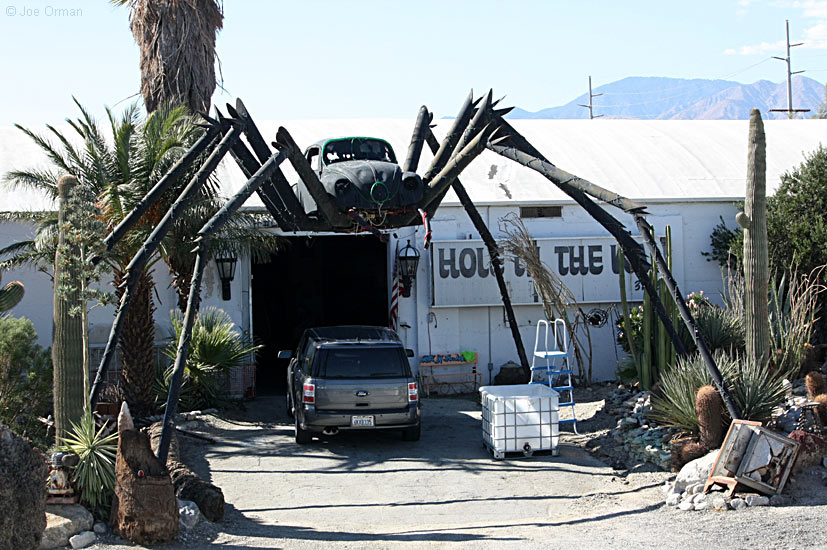 joe ormans photo pages vw beetle spider north palm springs california